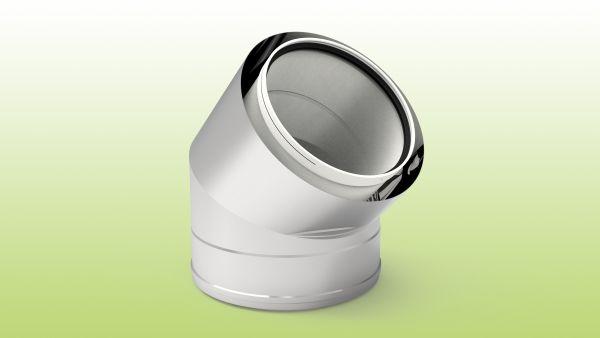 CODO 45º M/H PP PROTEGIDO INOX